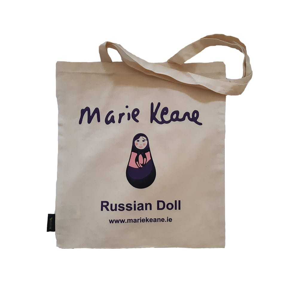 Russian Doll Jute Bag - Marie Keane